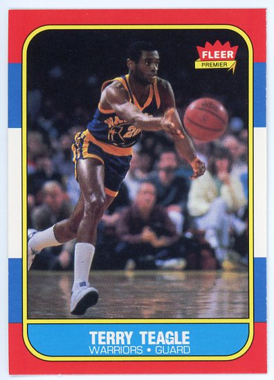 1986-87 Fleer #107 Terry Teagle