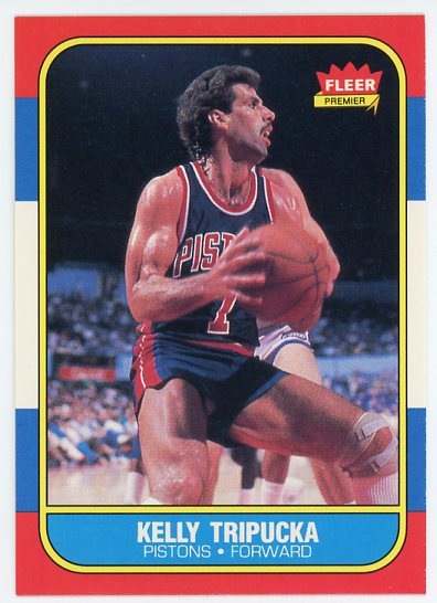1986-87 Fleer #115 Kelly Tripucka RC