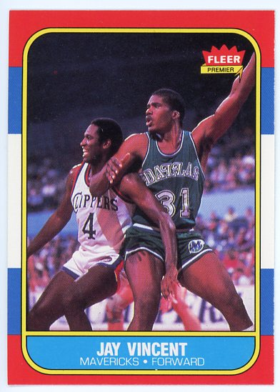 1986-87 Fleer #118 Jay Vincent