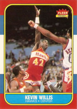 1986-87 Fleer #126 Kevin Willis RC