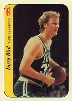 1986-87 Fleer Stickers #2 Larry Bird
