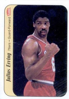 1986-87 Fleer Stickers #5 Julius Erving front image