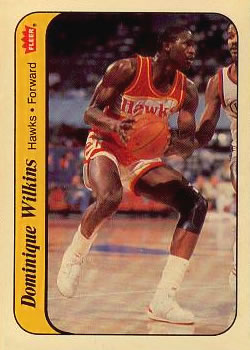 1986-87 Fleer Stickers #11 Dominique Wilkins