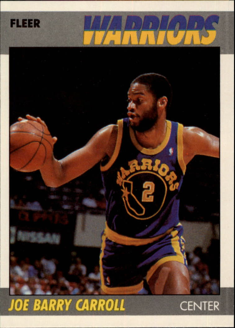 1987-88 Fleer #16 Joe Barry Carroll