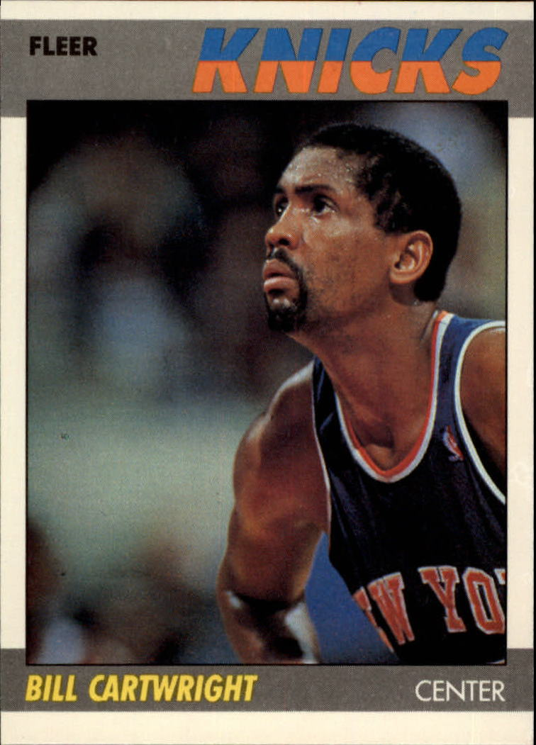 1987-88 Fleer #17 Bill Cartwright
