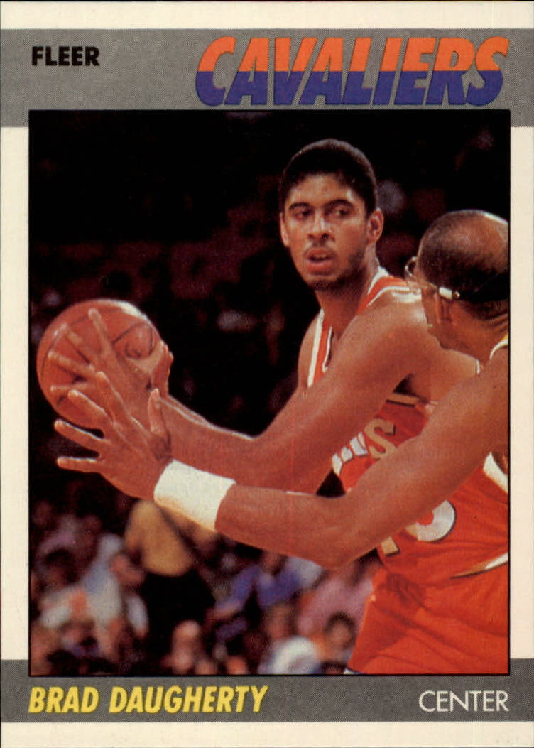 1987-88 Fleer #25 Brad Daugherty RC