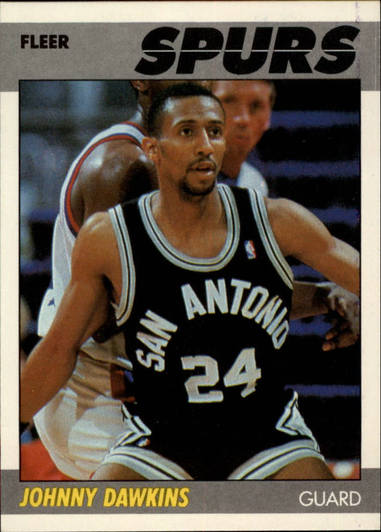 1987-88 Fleer #27 Johnny Dawkins RC