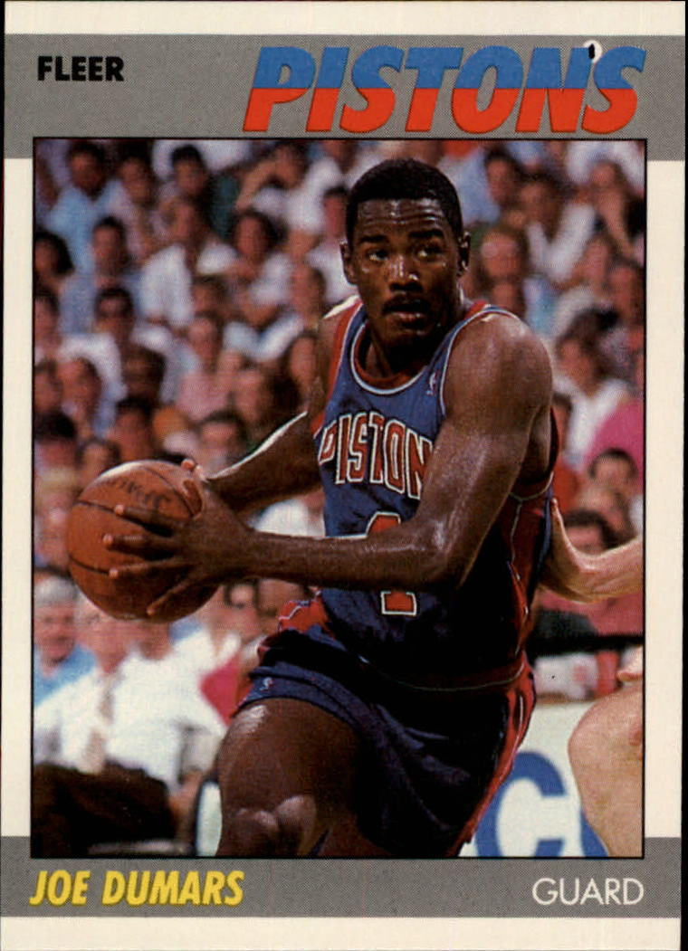1987-88 Fleer #31 Joe Dumars