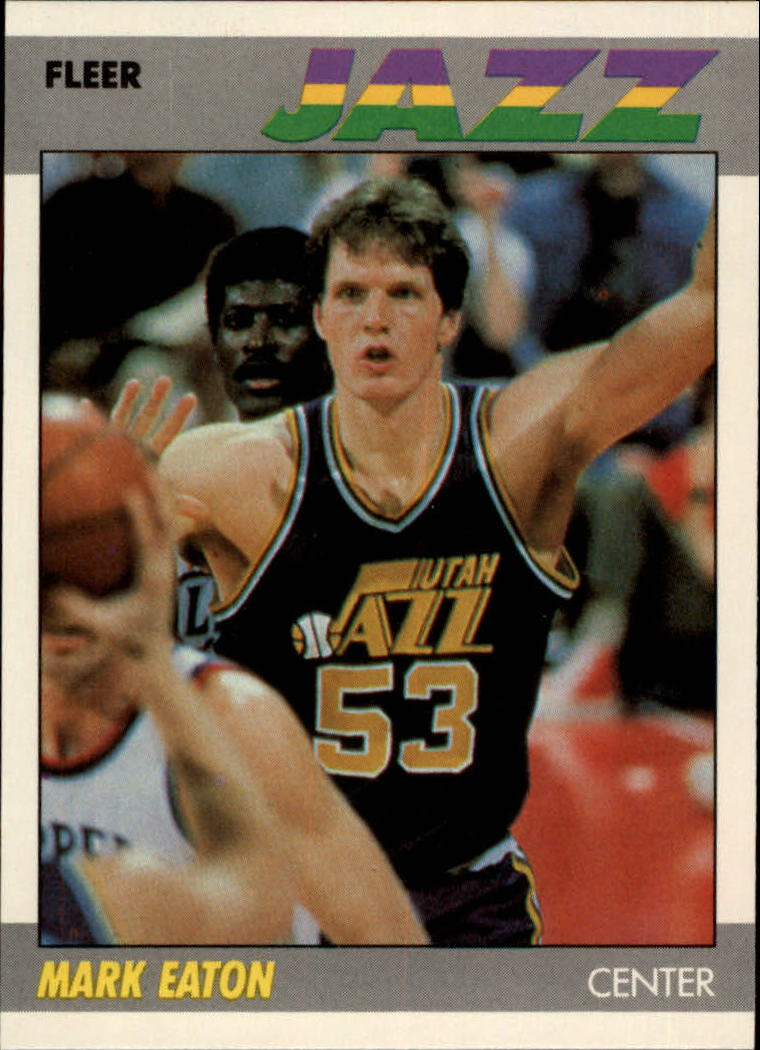 1987-88 Fleer #32 Mark Eaton