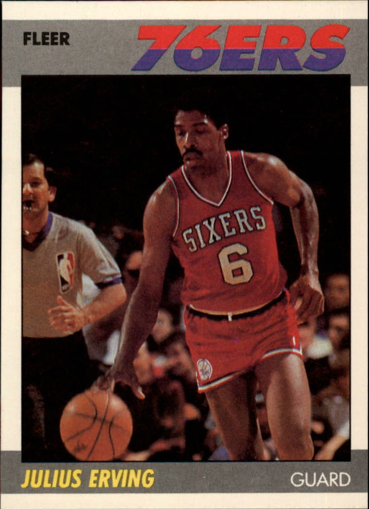 1987-88 Fleer #35 Julius Erving