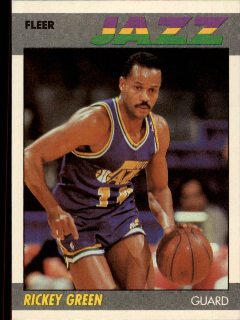 1987-88 Fleer #43 Rickey Green