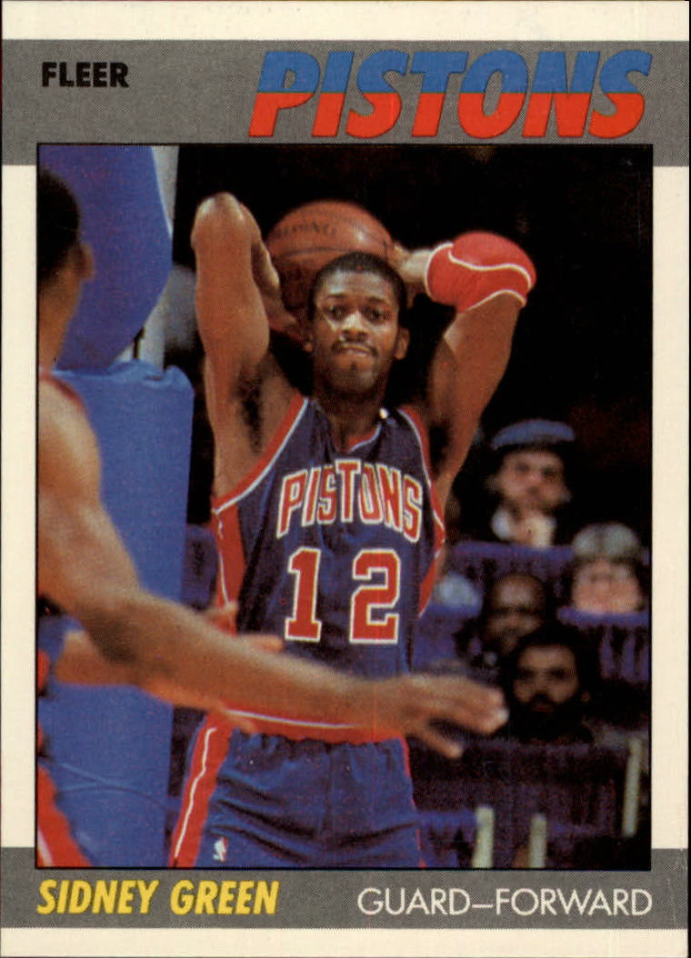1987-88 Fleer #44 Sidney Green