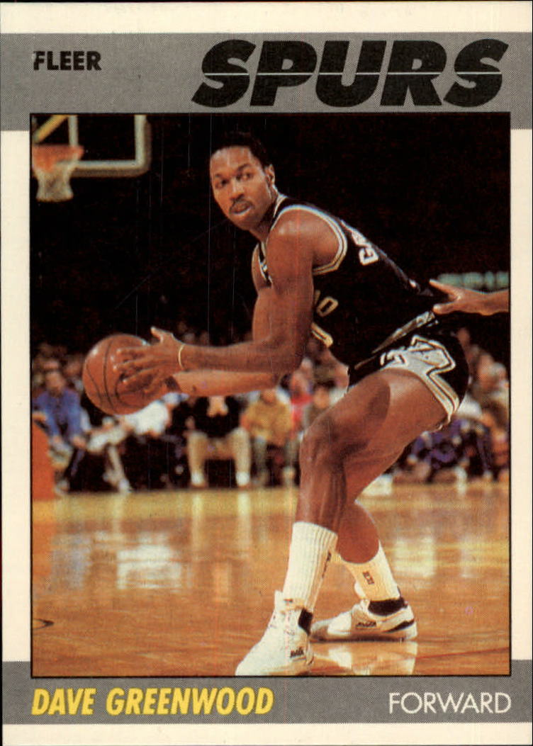 1987-88 Fleer #45 David Greenwood