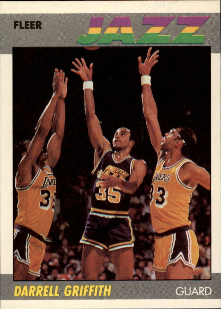 1987-88 Fleer #46 Darrell Griffith