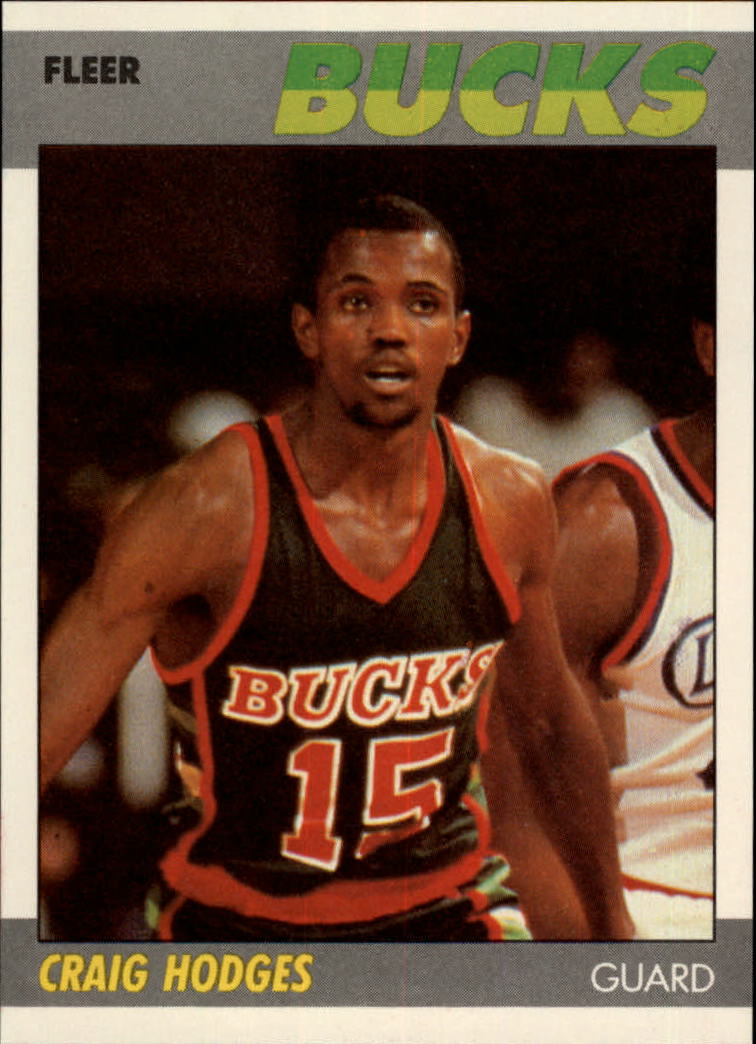 1987-88 Fleer #52 Craig Hodges
