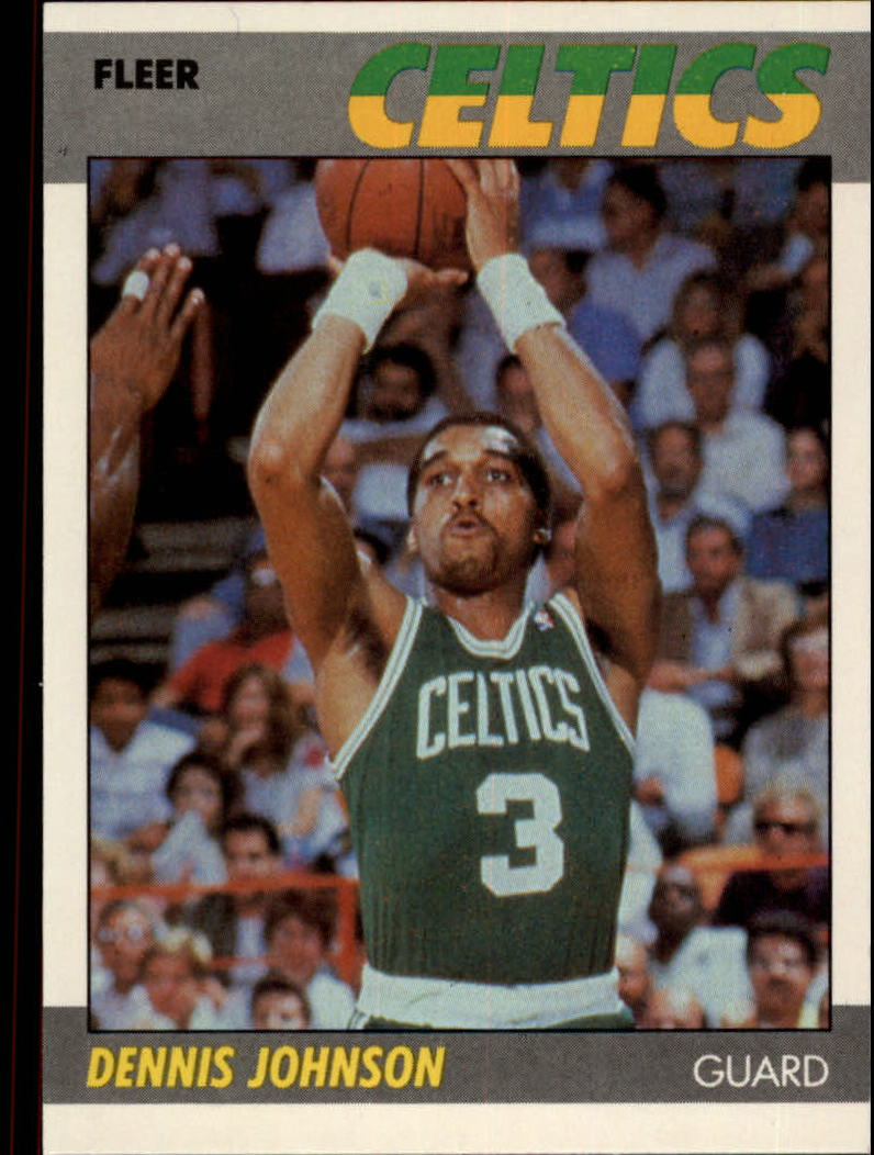 1987-88 Fleer #54 Dennis Johnson