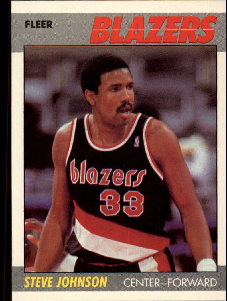 1987-88 Fleer #57 Steve Johnson