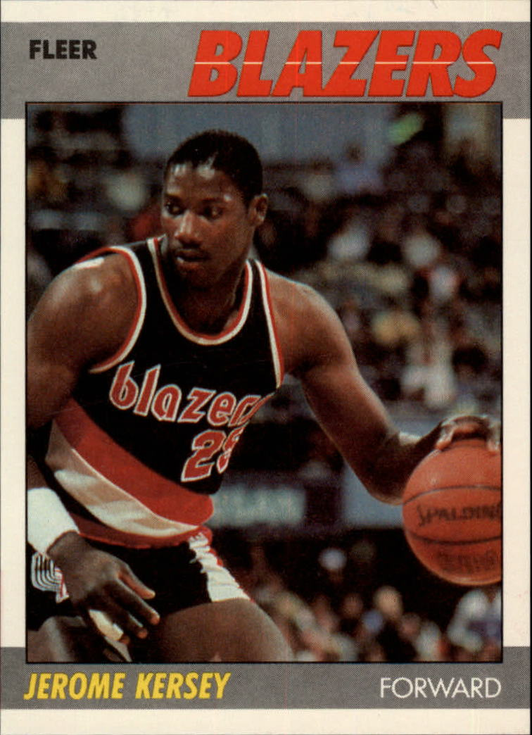 1987-88 Fleer #60 Jerome Kersey RC