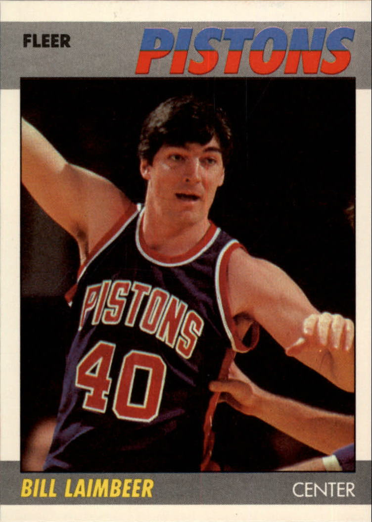 1987-88 Fleer #61 Bill Laimbeer