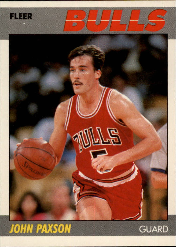 1987-88 Fleer #83 John Paxson RC