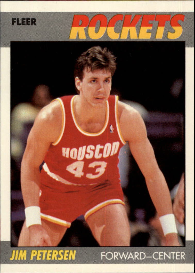 1987-88 Fleer #86 Jim Petersen