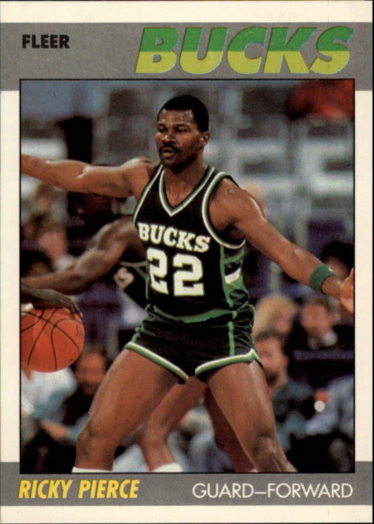 1987-88 Fleer #87 Ricky Pierce