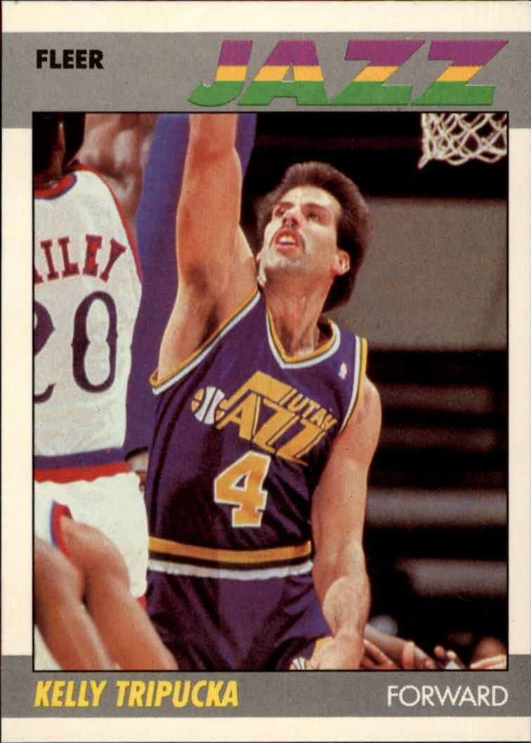 1987-88 Fleer #112 Kelly Tripucka