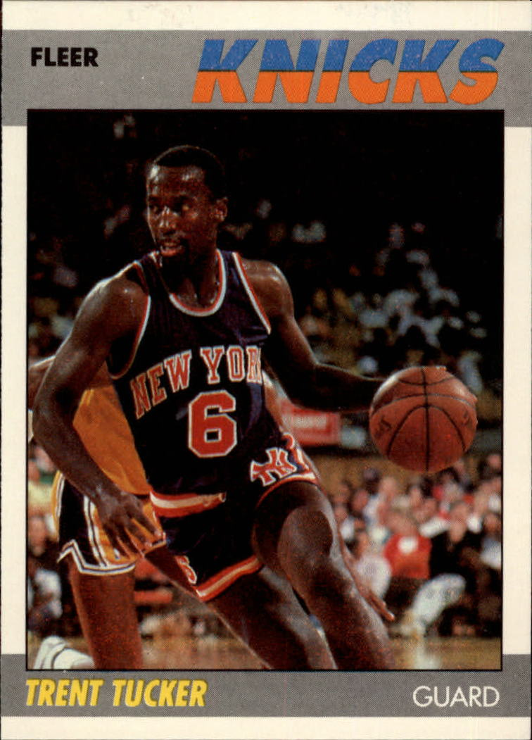 1987-88 Fleer #113 Trent Tucker RC