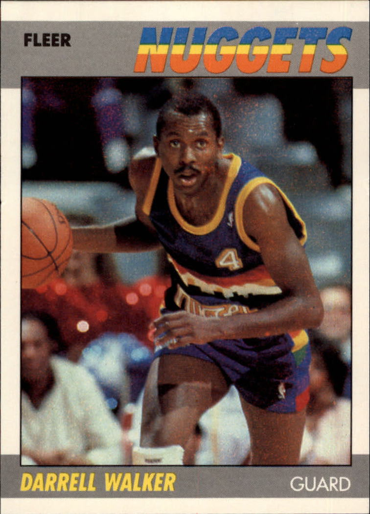 1987-88 Fleer #117 Darrell Walker RC
