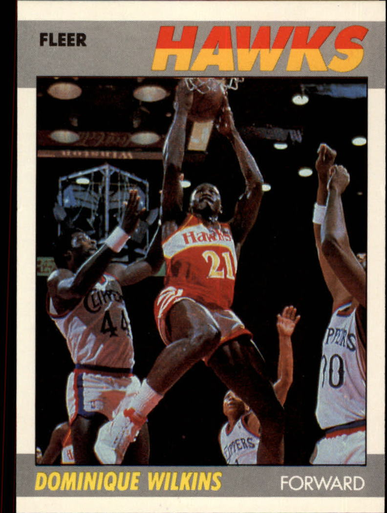 1987-88 Fleer #118 Dominique Wilkins