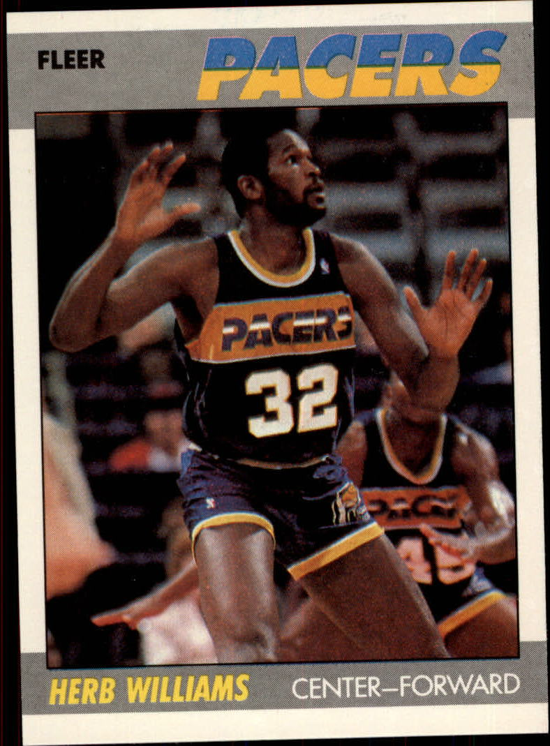 1987-88 Fleer #121 Herb Williams