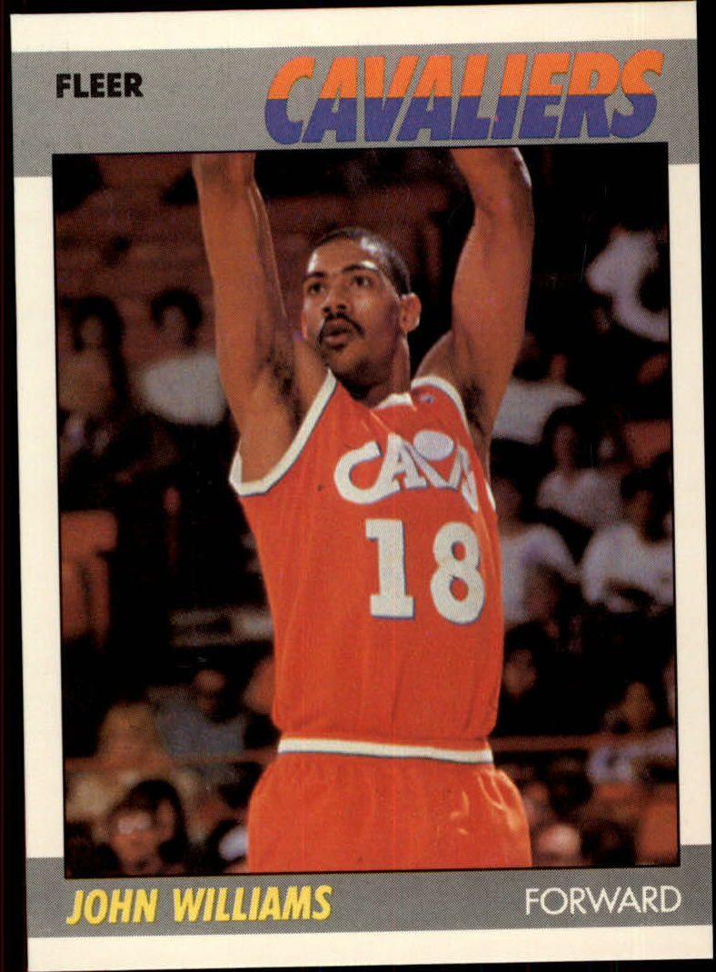 1987-88 Fleer #123 Hot Rod Williams RC