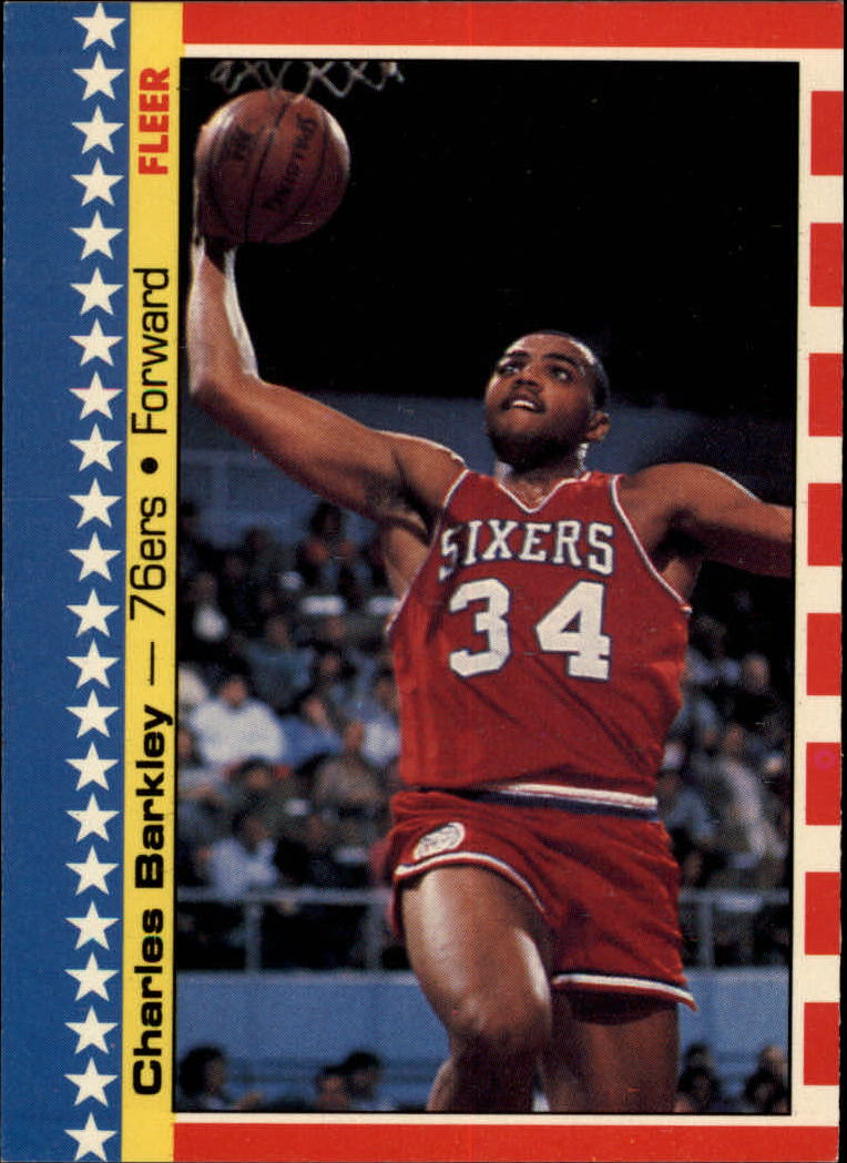 1987-88 Fleer Stickers #6 Charles Barkley