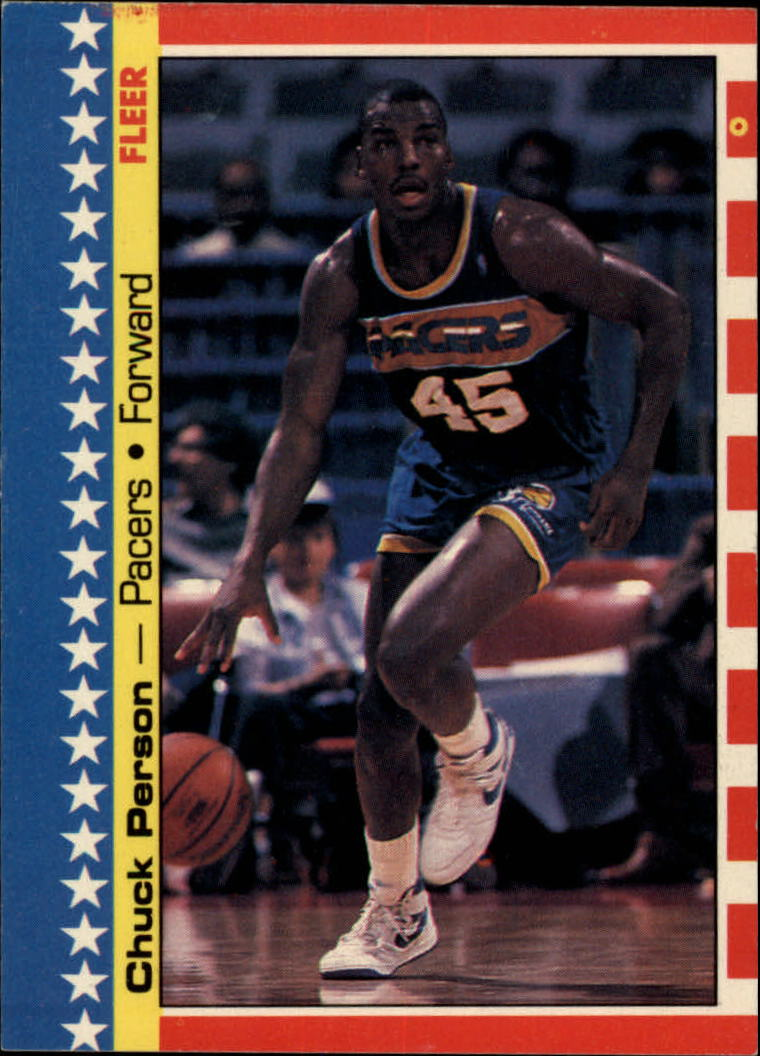 1987-88 Fleer Stickers #10 Chuck Person