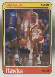 1988-89 Fleer #4 Spud Webb