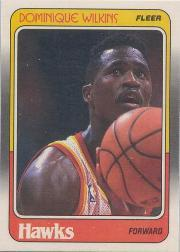 1988-89 Fleer #5 Dominique Wilkins