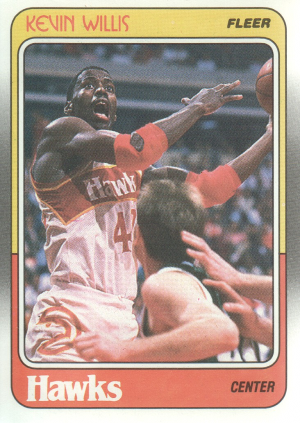 1988-89 Fleer #6 Kevin Willis