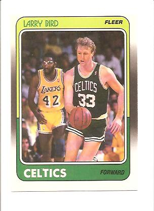 1988-89 Fleer #9 Larry Bird