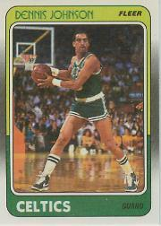 1988-89 Fleer #10 Dennis Johnson