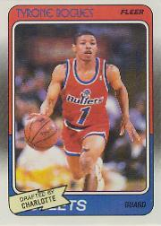 1988-89 Fleer #13 Muggsy Bogues RC