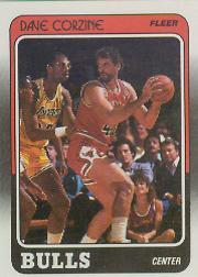1988-89 Fleer #15 Dave Corzine