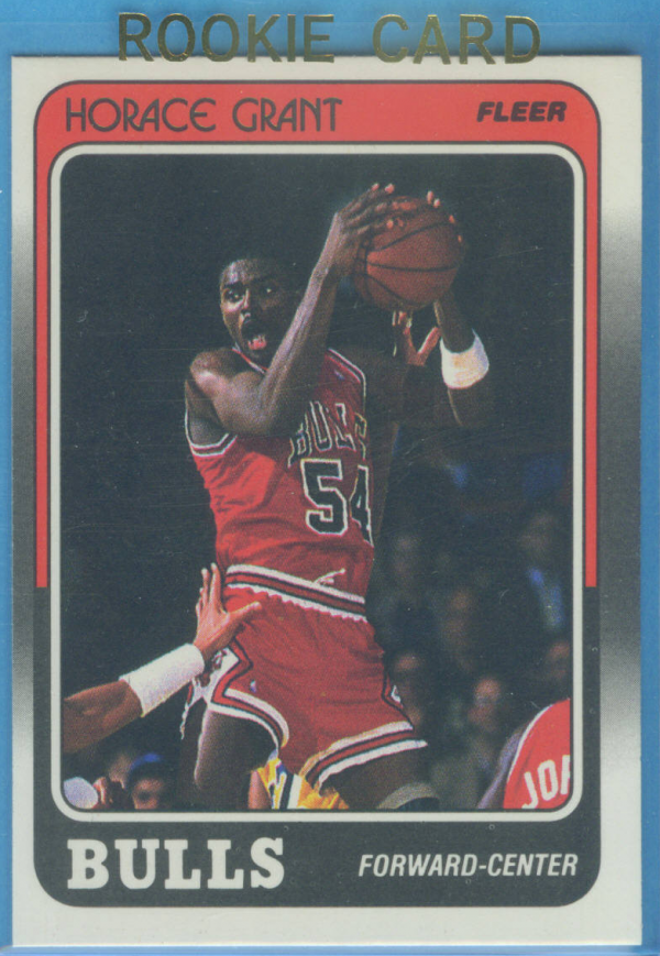 1988-89 Fleer #16 Horace Grant RC