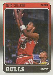 1988-89 Fleer #21 Brad Sellers RC