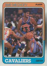 1988-89 Fleer #22 Brad Daugherty