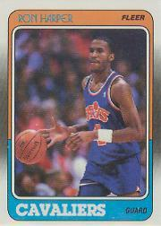 1988-89 Fleer #23 Ron Harper