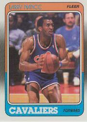 1988-89 Fleer #24 Larry Nance