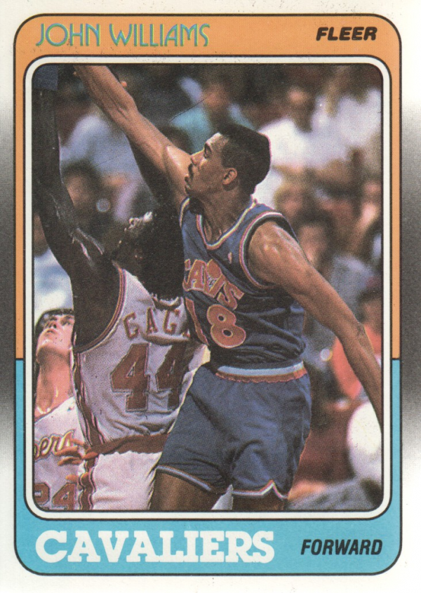 1988-89 Fleer #26 Hot Rod Williams