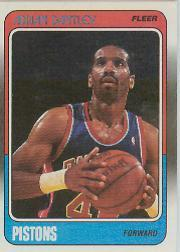 1988-89 Fleer #39 Adrian Dantley front image