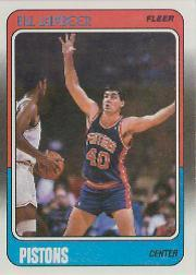 1988-89 Fleer #42 Bill Laimbeer