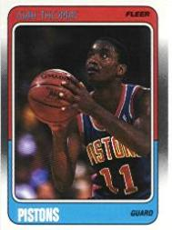 1988-89 Fleer #45 Isiah Thomas